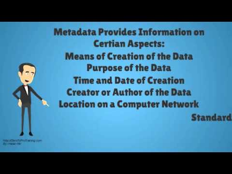 What Is Metadata? (Overview of meta data)