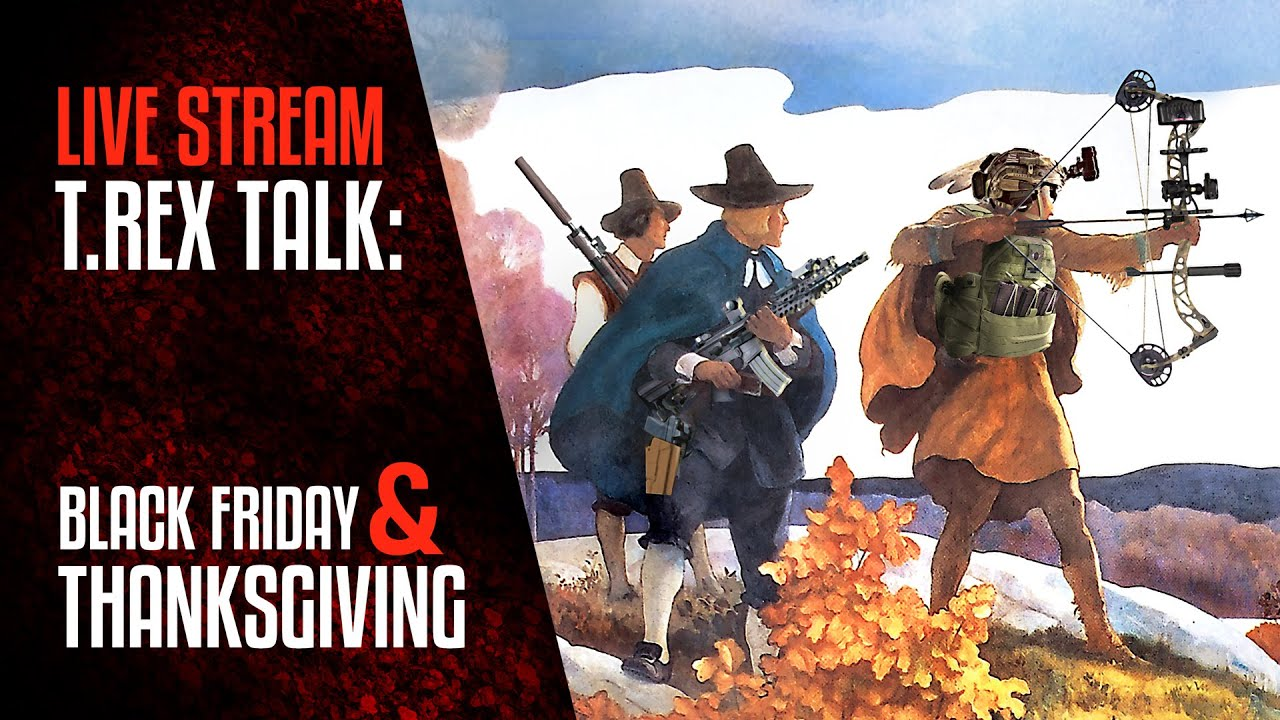 TREX TALK: Black Friday and Thanksgiving Announcement