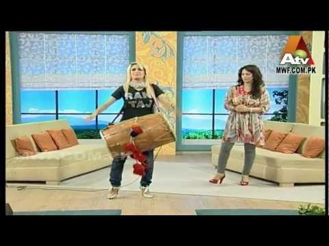 RANI TAJ - Dhol for The Farah  Morning Show