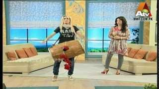 RANI TAJ - Dhol for The Farah  Morning Show