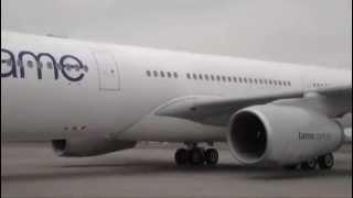 Arribo AIRBUS A 330 | Tame Línea Aérea del Ecuador