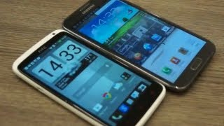 HTC One X + (plus) vs Samsung Galaxy Note II