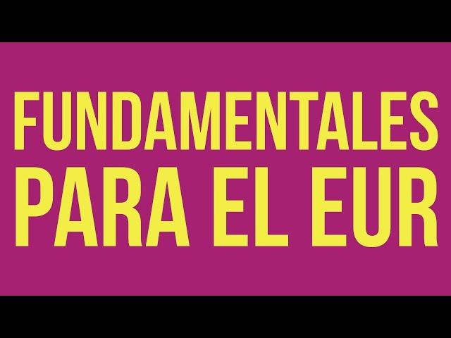 Análisis del EUR: ¿qué quiere decir que el $EUR suba? - 1/08
