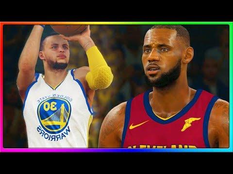 NBA FINALS  REMATCH! Cleveland Cavaliers vs Golden State Warriors, LeBron vs Curry | NBA 2K18