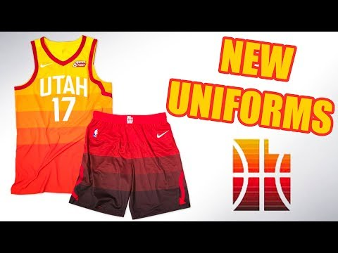 Utah Jazz Unveil NEW Uniforms & Court