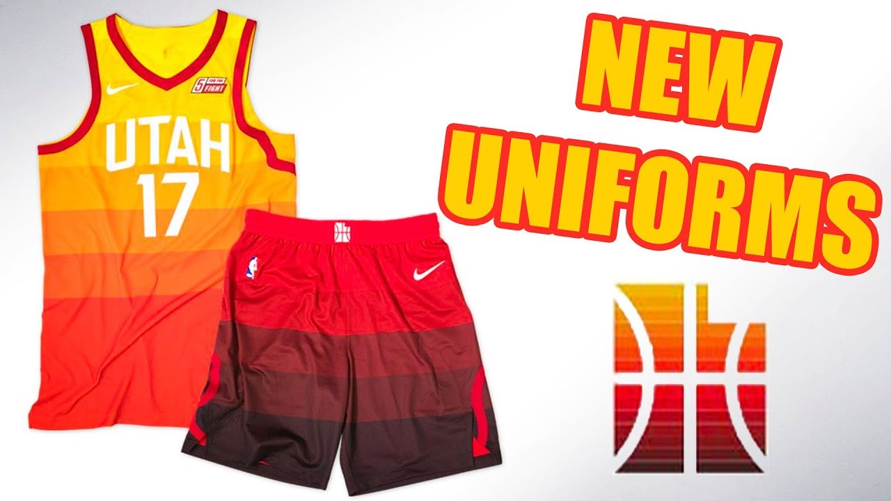 wholesale dealer a5713 df09e Utah Jazz Unveil NEW Uniforms & Court