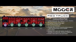 Mooer Red Truck review by Vinai T (Thai language only)