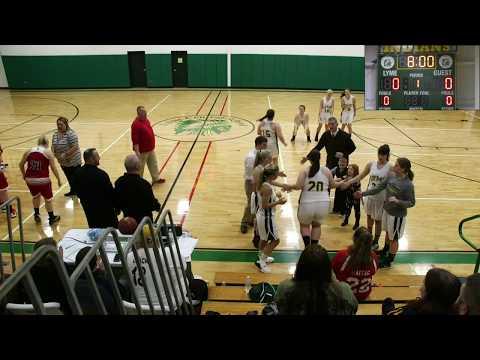 Lyme vs South Lewis High School Girls Varsity Basketball