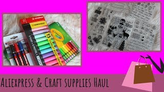 Cheap Craft Supplies From Aliexpress - Unboxing Craft Supllies  - Vera's Creations