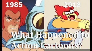 The Death (and Rebirth) of Action Cartoons