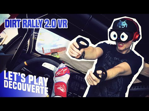 CATASTROPHE AU VOLANT ! Dirt Rally 2.0 VR - Let's Play Découverte