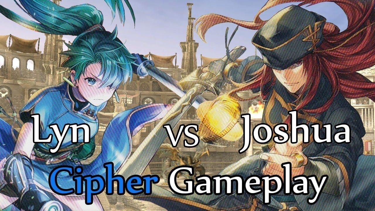 Fire Emblem 0 Cipher Gameplay: Lyn vs Joshua