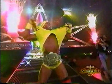 HULKAMANIA RETURNS! Sting, Goldberg, Hogan vs. Nash, Sid, Steiner - ENTRANCES