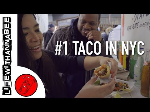Yummy Tacos at Chelsea Market - Los Tacos No. 1 | NYC Food Guide - LifewithAnnaBee