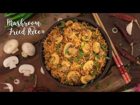 mushroom-fried-rice-|-fried-rice-recipes