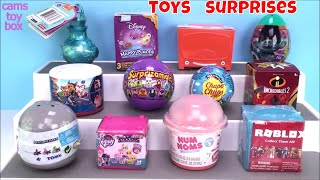 Num Noms Roblox Incredibles Surprise Toys Unboxing Paw Patrol Mashems Peppa Pig Disney