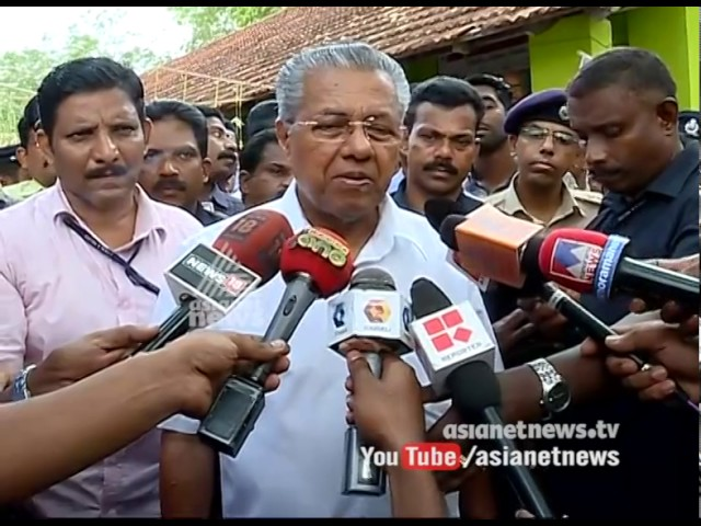 Pinarayi Vijayan responds on Kerala cops arrest Jishnu Pranoy's mother