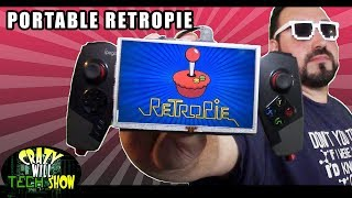 Portable Retropie, Raspberry pi 3 running retropie that Portable