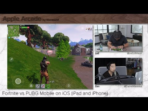 Fortnite vs PUBG Mobile on iOS (iPad and iPhone) | Apple Arcade Ep. 3