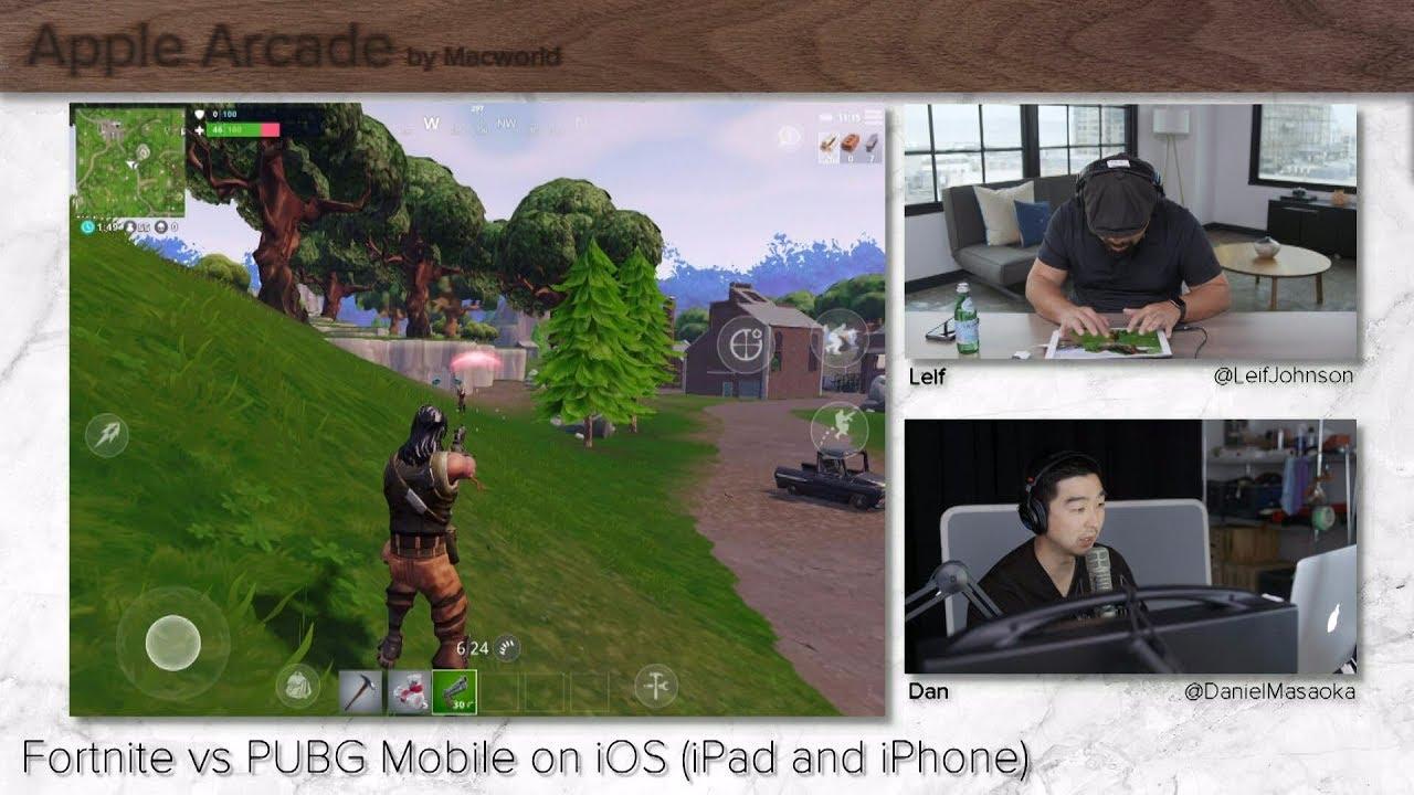 Fortnite Vs PUBG Mobile On IOS (iPad And IPhone)