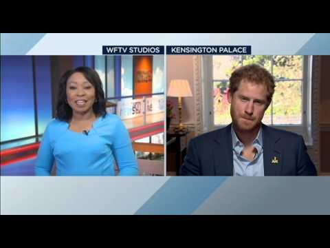 RAW INTERVIEW: Prince Harry & Vanessa Echols