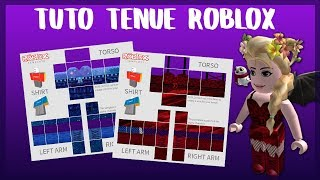 HOW TO CREER AN TENUE ON ROBLOX! - TUTO