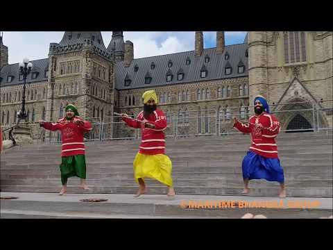 Bhangra at Parliament Hill || Ottawa, Canada || Canada 150 || Maritime Bhangra Group