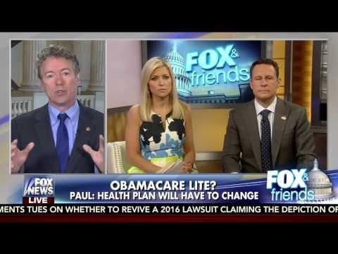 "Sen. Rand Paul: Conservatives won't take ""Obamacare Lite"" - March 7, 2017"