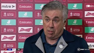 """They are the best team in the world!"" Ancelotti speaks after Everton 0-2 Man City"