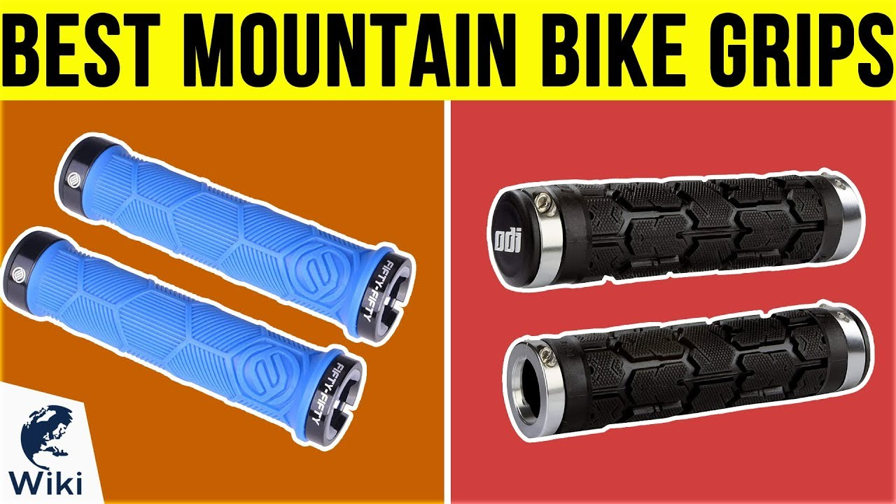Fifty-Fifty Cycling Dual Lock-On Handlebar Grips Blue