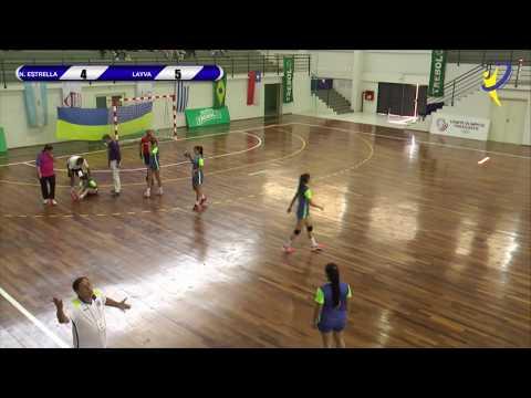 CLUB NUEVA ESTRELLA Vs CLUB LAYVA - Pan de Clubes - Asunción 2017