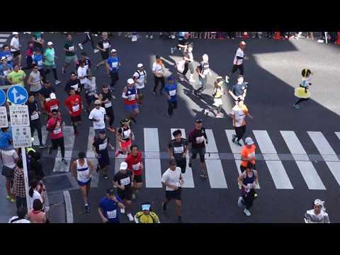 第35回NAHAマラソン2019 蔡温橋交差点1
