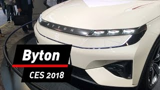 E-Auto Byton Concept: Start-up zeigt Prototyp