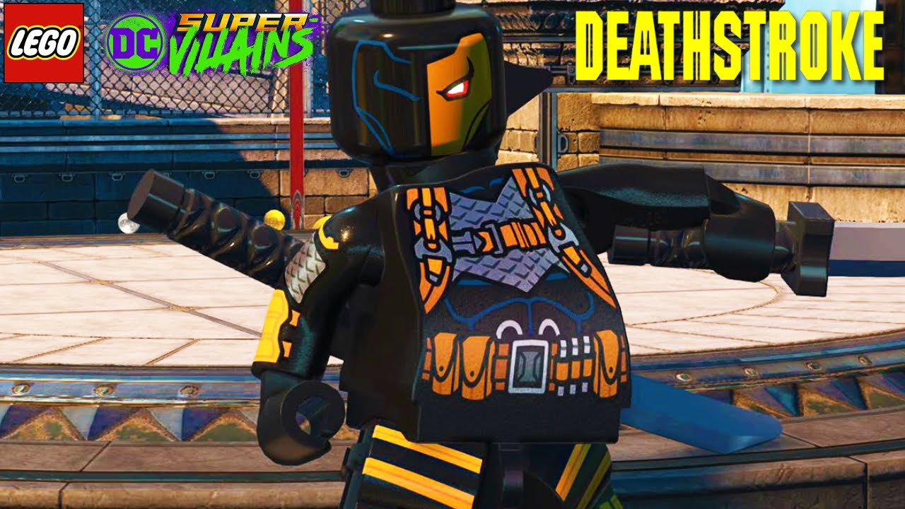 LEGO DC Super Villains Deathstroke Free Roam Gameplay