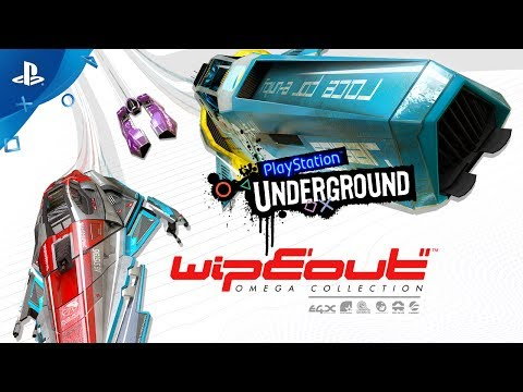 Wipeout Omega Collection PS4 Gameplay | PlayStation Underground