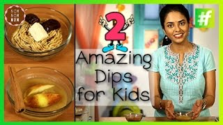 #fame food - 2 Amazing and Healthy Dips For Kids | Nameeta Sohoni