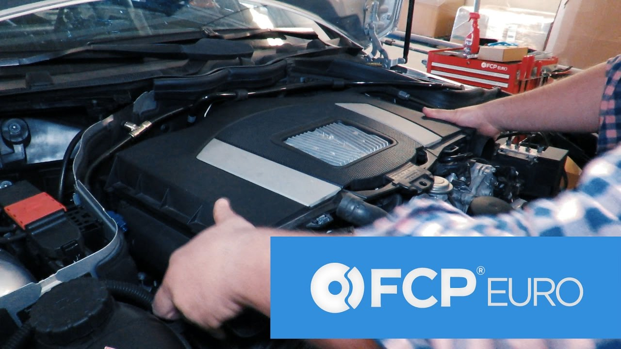 Mercedes C300 Engine Cover Removal - Tool-less DIY (M272, M273) by FCP Euro