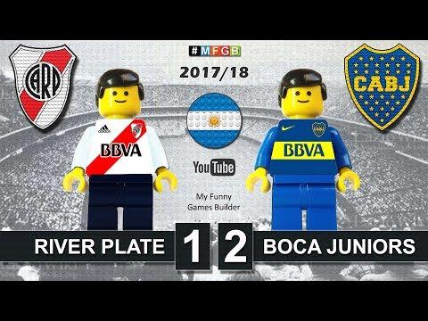 River Plate vs Boca Juniors 1-2 • Primera División Argentina (05/11/2017) Highlights Lego Football