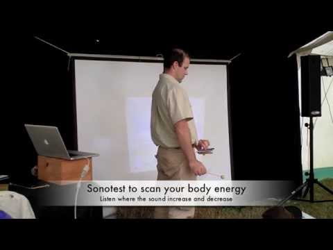 Sonotest Ines Chakras test vibrations cosmic tune 2012