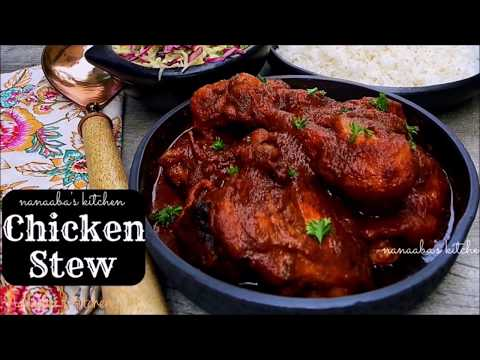 How to make my Tasty CHICKEN STEW Recipe I All Natural Ingredients I Nanaaba's kitchen✔