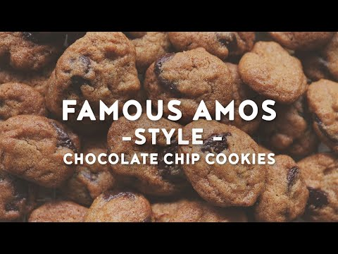 Crunchy Mini Chocolate Chip Cookies | Famous Amos Style Cookies