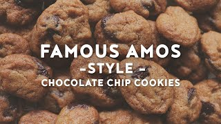 Crunchy Mini Chocolate Chip Cookies  Famous Amos Style Cookies