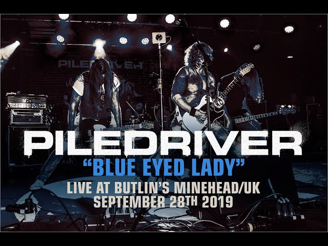 BLUE EYED LADY - PILEDRIVER live at Butlin´s Minehead/UK - September 28th 2019