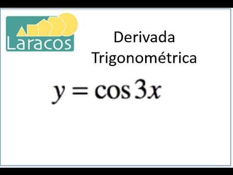 Derivada Trigonométrica (y=cos3x)