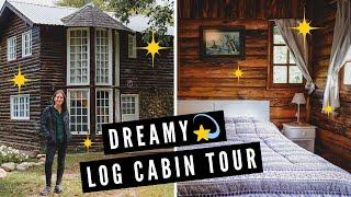 Dreamy LOG CABIN TOUR ? + Scenic Drive out of El Bolsón, Patagonia to Villa La Angostura