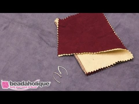 How to Use the Jeweller's Rouge Polishing Cloth