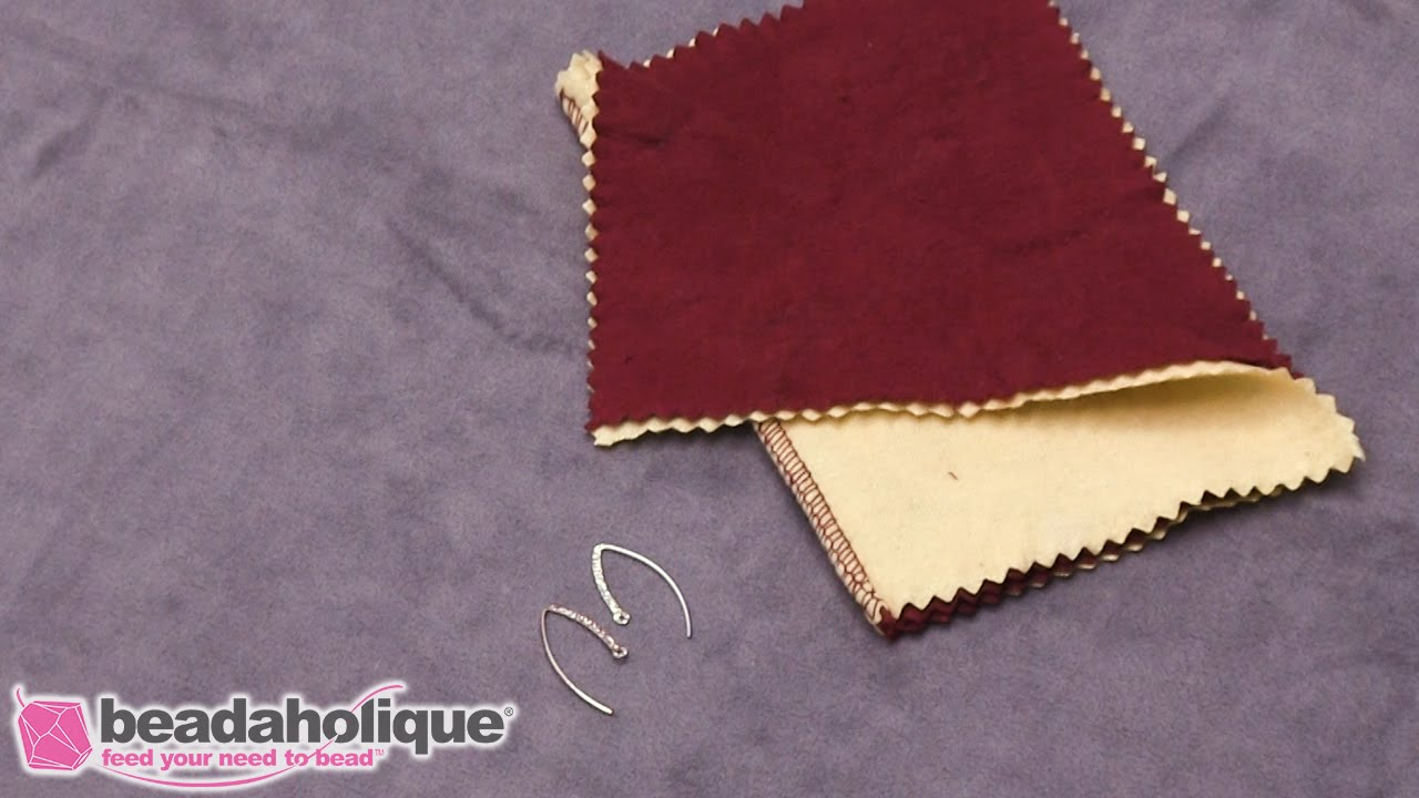 How To Use The Jeweller S Rouge Polishing Cloth Youtube