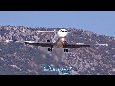 MD-82 MADDOG Landing - Bulgarian Air Charter - Split Airport LDSP/SPU