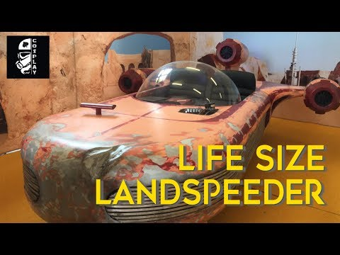 Full Scale Landspeeder Prop Build