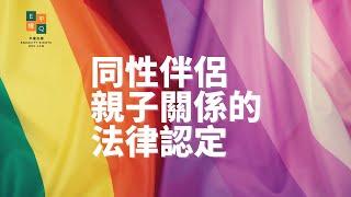 同性伴侶親子關係的法律認定 (完整版)